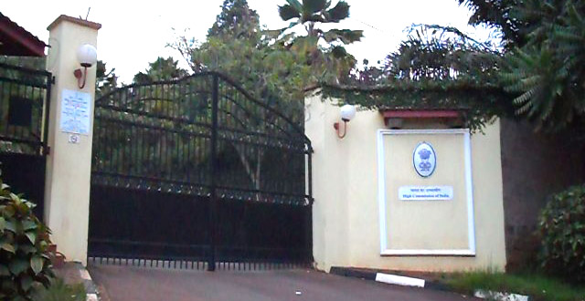 Embassies in Kampala