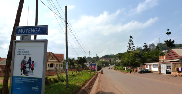 Living in Muyenga