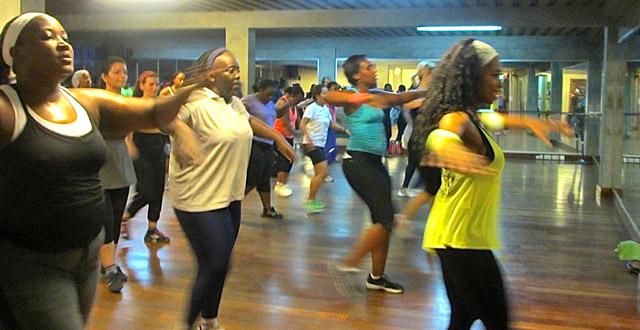 Fitness in Kampala: ZUMBA