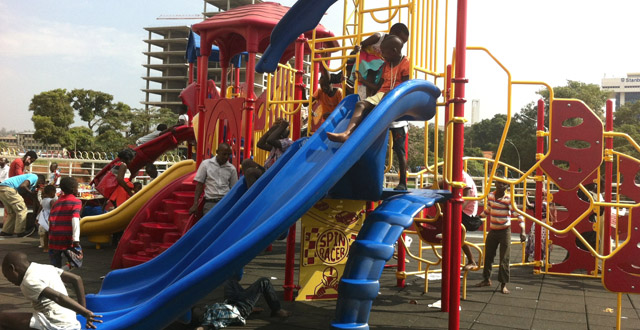Kids' Day Out in Kampala