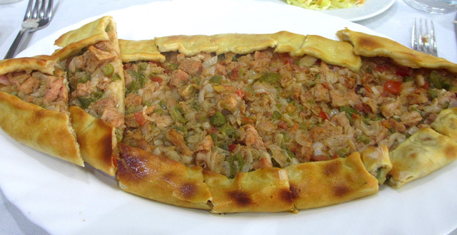 Istanbul Restaurant, Kampala - Pide