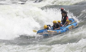 The first rapid we went through, I felt pure adrenaline. We navigated it expertly as I dug in my paddle and we splashed over the […]