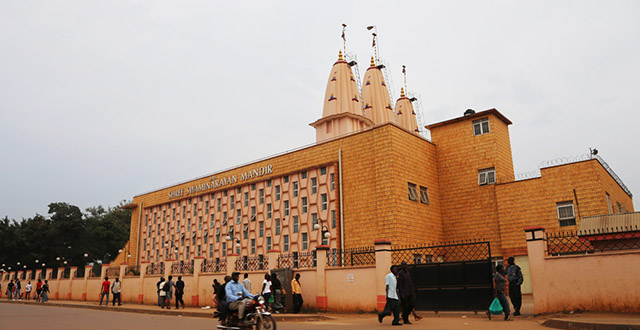 BAPS Shree Swaminarayan temple,