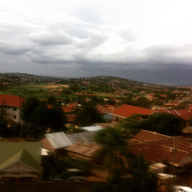 The storm is coming #Kampala #talkinbouttheweather