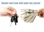 Instant cash Loan with same day payout